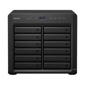 NAS Synology Tour DS3617XS 120TB (12 x 10 TB) Disque RED PRO