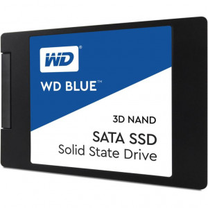 "SSD 2,5"" 250GB - 550/525MBps - SATA 6Gbps - Western Digital Blue 3D NAND SSD 7mm"