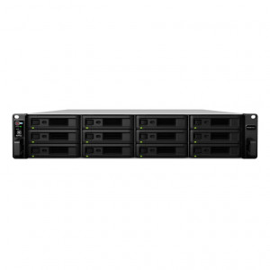 NAS Synology Rack (2 U) RS18017XS+ 144TB (12 x 12 TB) Disque NAS IronWolf Pro