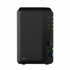 NAS Synology Tour DS218 16TB (2 x 8 TB) Disque DKN