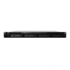 Synology RS818+ - Serveur NAS - Rack (1U) - capacité totale 40TB (4 x 10TB Disques WD RED)