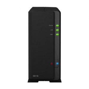 NAS Synology Tour DS118 10TB (1 x 10 TB) Disque NAS IronWolf Pro