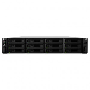 NAS Synology Rack (2 U) RS3618XS 96TB (12 x 8 TB) Disque RED PRO