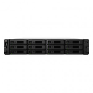 NAS Synology Rack (2 U) RS2418+ 72TB (12 x 6 TB) Disque RED PRO
