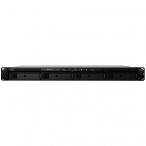NAS Synology Rack (1 U) RX418 4TB (4 x 1 TB) Disque NAS IronWolf