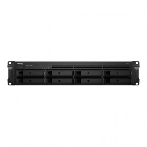 NAS assemblé  Synology Rack (2U) RS1219+ 64TB (8x8TB)  avec Disques Seagate IronWolf NAS