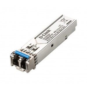 Transceiveur mini-Gbic fibre multimode SFP LC 1000Base-SX (2km) / Format Industriel T° -40° à +85°