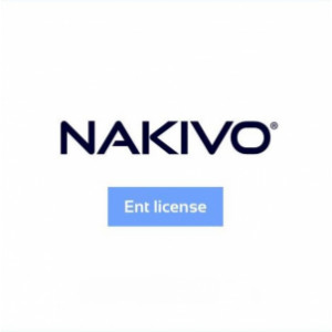 Maintenance additionnelle de 2 ans pour NAKIVO Backup & Replication Enterprise VMware et Hyper-V (à souscrire au moment de l'achat de la licence)