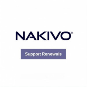 Renouvellement de maintenance annuelle pour NAKIVO Backup & Replication Enterprise Essentials VMware and Hyper-V