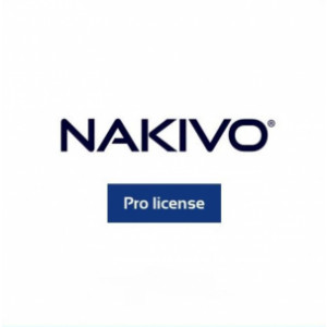 Maintenance additionnelle d' 1 an pour NAKIVO Backup & Replication Pro VMware et Hyper-V (à souscrire au moment de l'achat de la licence)