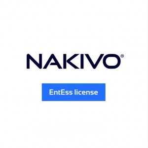 Souscription annuelle de NAKIVO Backup & Replication Enterprise Essentials pour VMware and Hyper-V (Note: Commande Mini 2 sockets/ Maxi 6 sockets par société)