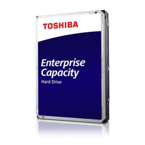 "Disque dur 3,5"" 12TB - 7200rpm - SATA 6Gbps - 256MB - Toshiba Enterprise Capacity HDD - 24/7"