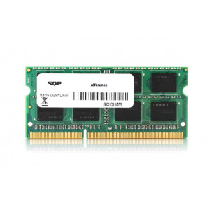 Mémoire SQP standard - 16 Gb - DDR3 - Sodimm - 1866 MHz - PC3-14900 - Unbuffered - 2R8 - 1.35V - CL13