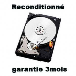 "Disque dur 2,5"" 1TB - 5400rpm - SATA 6Gbps - 8MB - WD Mobile Blue reconditionné"