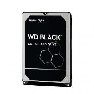"Disque dur 2,5"" 1TB - 7200rpm - SATA 6Gbps - 32MB - WD Mobile Black 9,5mm"