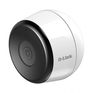 Caméra mydlink extérieure Full HD Wi-Fi - 1920x1080 - H.264 - Microphone intégré - Filtre ICR - LEDs infrarouge 7m - Angle de 135° - Wireless N