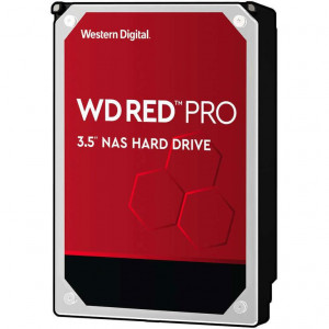 "Disque dur 3,5"" 14TB - 7200rpm - SATA 6Gbps - 512MB - WD Red Pro"