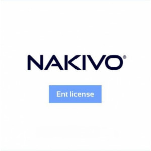 NAKIVO Backup & Replication Enterprise pour Workstations- 5 Workstations - Support et mises à jour 1 an inclus