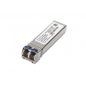 Finisar 10GbE LR singlemode SFP+, Transceiver, 10GBASE-LR/SW, 3.3V, 1310nm DFB, -5°C to 85°C, Duplex LC connector, 10km
