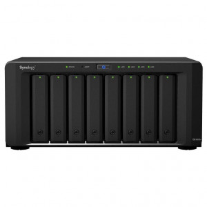 NAS Synology Tour DS1817+ (8GB) 64TB (8 x 8TB) Disques RED Pro