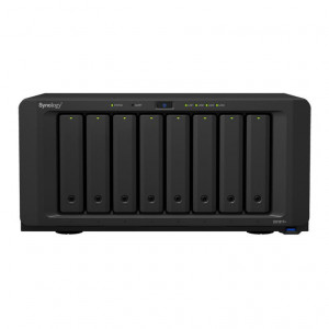 NAS Synology Tour DS1817 64TB (8 x 8TB) Disques RED