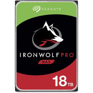 """Disque dur 3,5"""" 18TB - 7200rpm - SATA 6Gbps - 256MB - Seagate IronWolf Pro"""