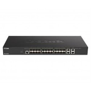 Switch Web managé L2+ Smart+ 24x 10GbE SFP+ & 4x cuivre 10GbE