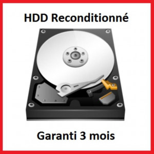 "Disque dur 3,5"" 3TB - 7200rpm - SATA 6Gbps - 64MB - Toshiba Client HDD reconditionné"
