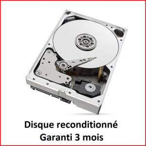 Disque dur 3,5'' 10TB - 5400rpm - SATA 6Gbps - 256MB - WD Red NAS reconditionné