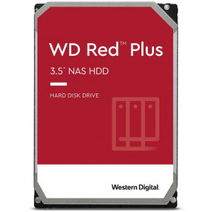 """WD Disque dur Red Plus NAS 3.5"""" 10TB - 7200rpm - SATA 6Gbps - 256MB"""